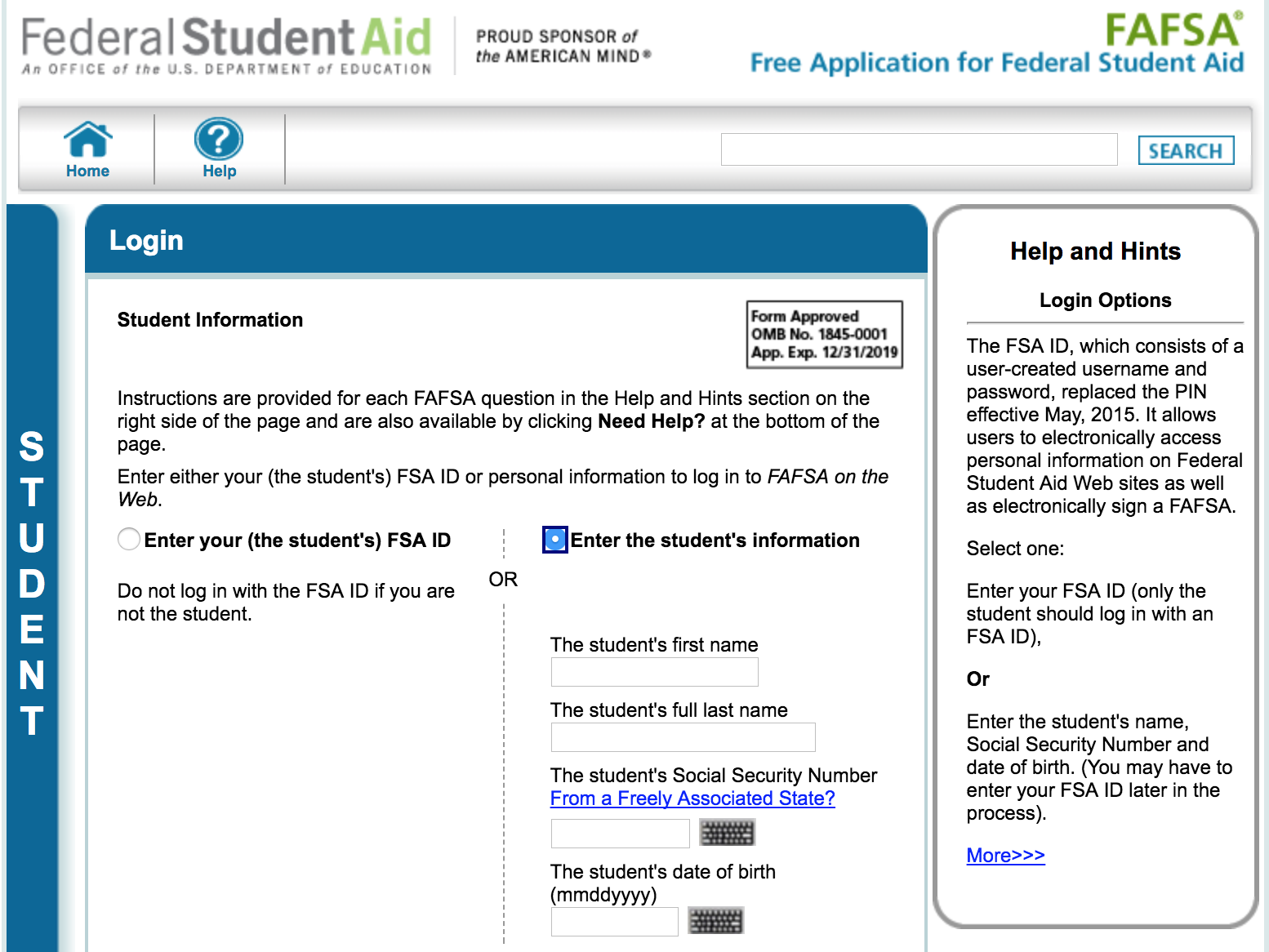 Name+DOB+SSN=FAFSA Data Gold Mine | HackFence Manages